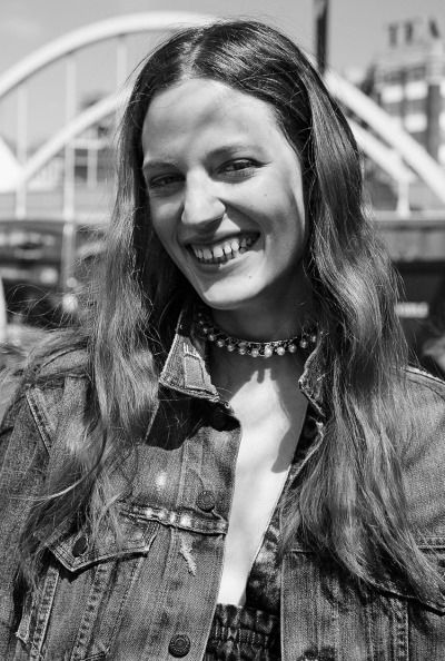 morningmode: BIKER CHIC Model Julia Banas by... - AS_Management