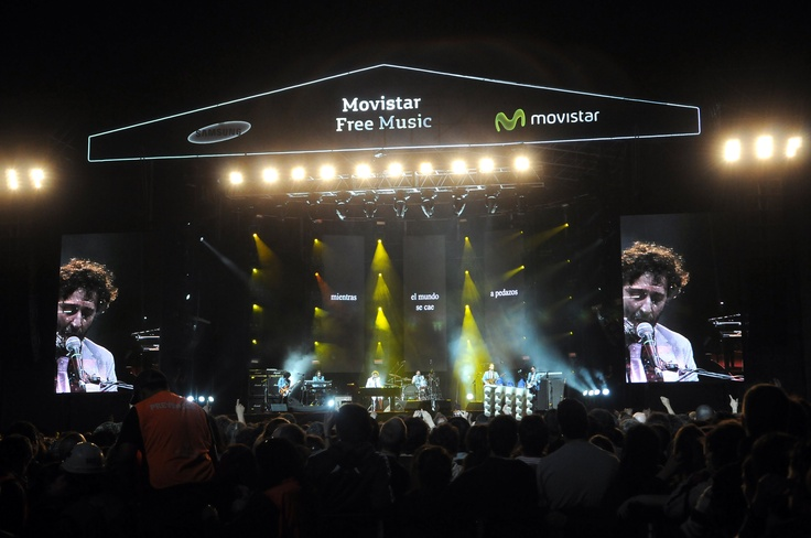 Fito Páez en el Movistar Free Music (Planetario Galileo Galilei, Buenos Aires) #movistarfreemusic