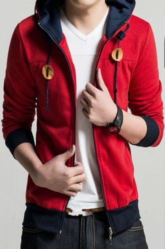 Fashion Men Slim collar jackets fashion jacket Tops Casual coat outerwear E181S