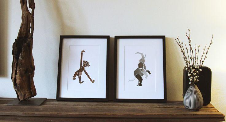 made by Amalie Lykke: Grafiske billeder til væggen