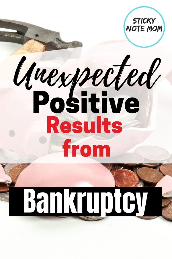 How Bankruptcy Changed Our Life For The Better Family Finance Job Loss Bankruptcy