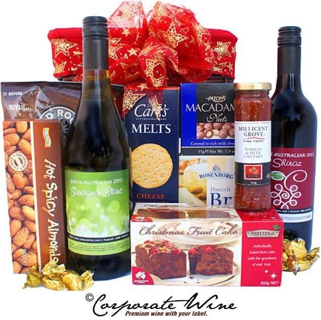 This Corporate Wine Gift Hamper has something for everyone, with tasty savoury snacks, and treats for the sweet-tooth. Also included are  bottles of our most popular wines, South Australian Savignon Blanc, and South Australian Shiraz. What a beautiful and enjoyable gift!