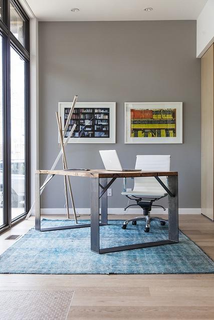 Office by LivingHomes, via Flickr