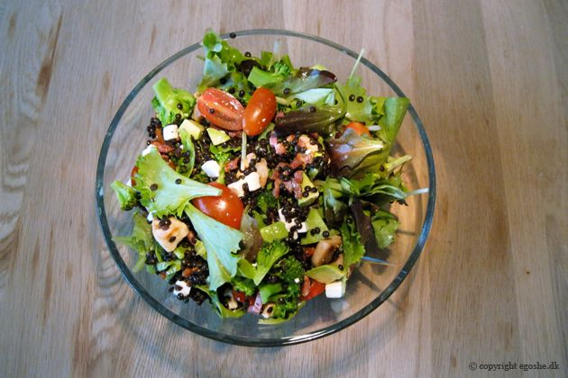 EGOSHE.dk - En madblog med South Beach opskrifter og andet godt...: Lækker blandet beluga-salat