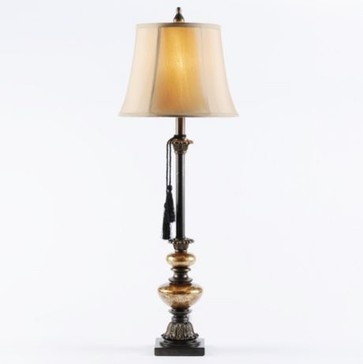 Grand honey buffet lamp traditional table lamps kirklands
