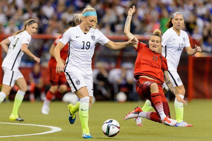Julie Johnston from USA Women's World Cup team