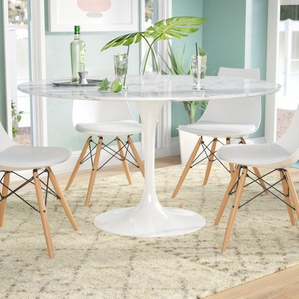 Julien Artificial Marble Round Dining