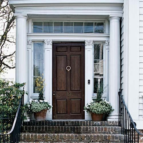 : The Doors, Big Doors, Brick Step, Front Doors, Old Brick, Transom Window, Wooden Doors, Front Porches, Wood Doors
