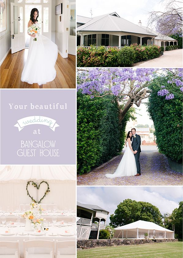 Bangalow Guest House | Brisbane Wedding Venue | Copyright: SilverEdge Photography