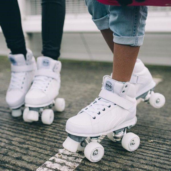 rioroller #kicks #allwhite #rollergirl
