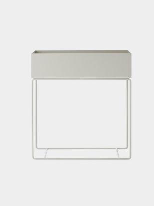 Plant Box - Light Grey