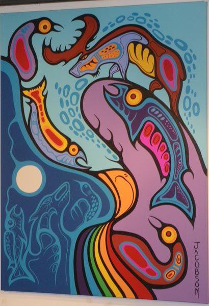 Mark Anthony Jacobson — Divine Realms of Rainbow Thunderbird