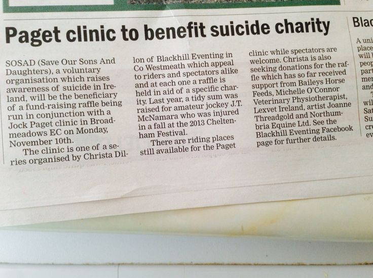 Check out our write up today in the Field!! Thankyou so much Margie McLoone.