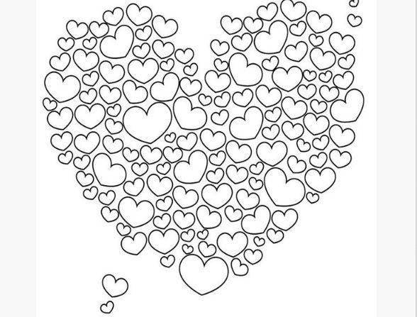 Kleurplaten voor Valentijn, Moederdag en Vaderdag -- Creatief en Simpel - Ga naar onze site voor de link