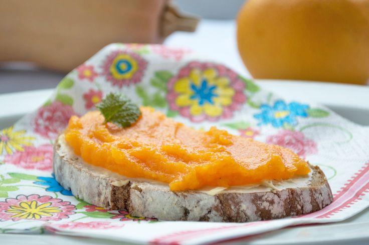 Denken sie im Herbst an dieses Rezept von der #Kürbismarmelade. Sie schmeckt im Winter wunderbar.