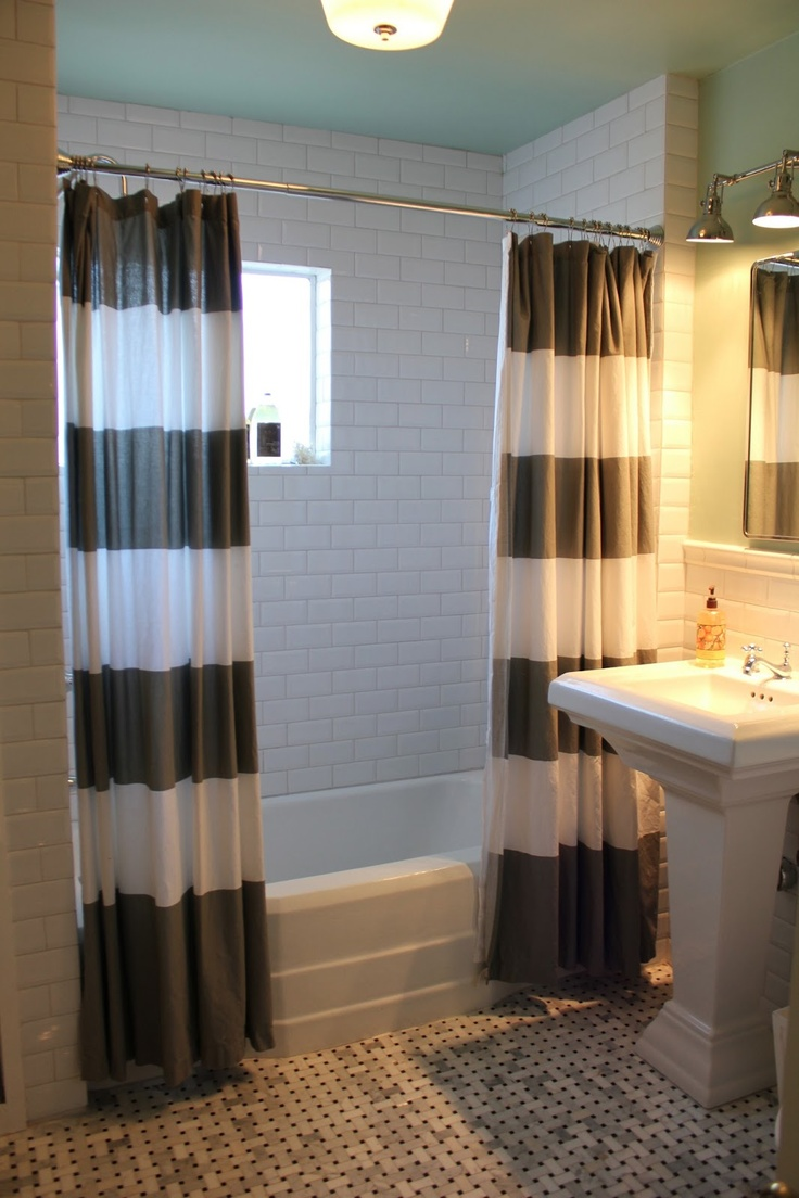 17 best ideas about two shower curtains on pinterest for Backyard guest house with bathroom