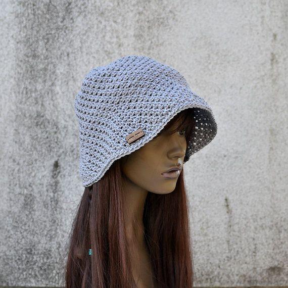 Linen Bucket Hat Sunhat Summer Spring Sunhat Cool by acrazysheep