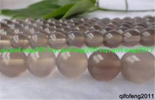 8MM-AAA-Natural-GRAY-CRAZY-LACE-AGATE-Round-Gemstones-Loose-Beads-15-QF1087