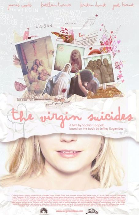 The Virgin Suicides(2000) //Directed by Sofia Coppola //starring Leslie Hayman(Therese)/A.J.Cook(Mary)/Chelse Swain(Bonnie)/Kristen Dunst(Lux)/Hanna R.Hall(Cecilia)//ヴァージン・スーサイズ