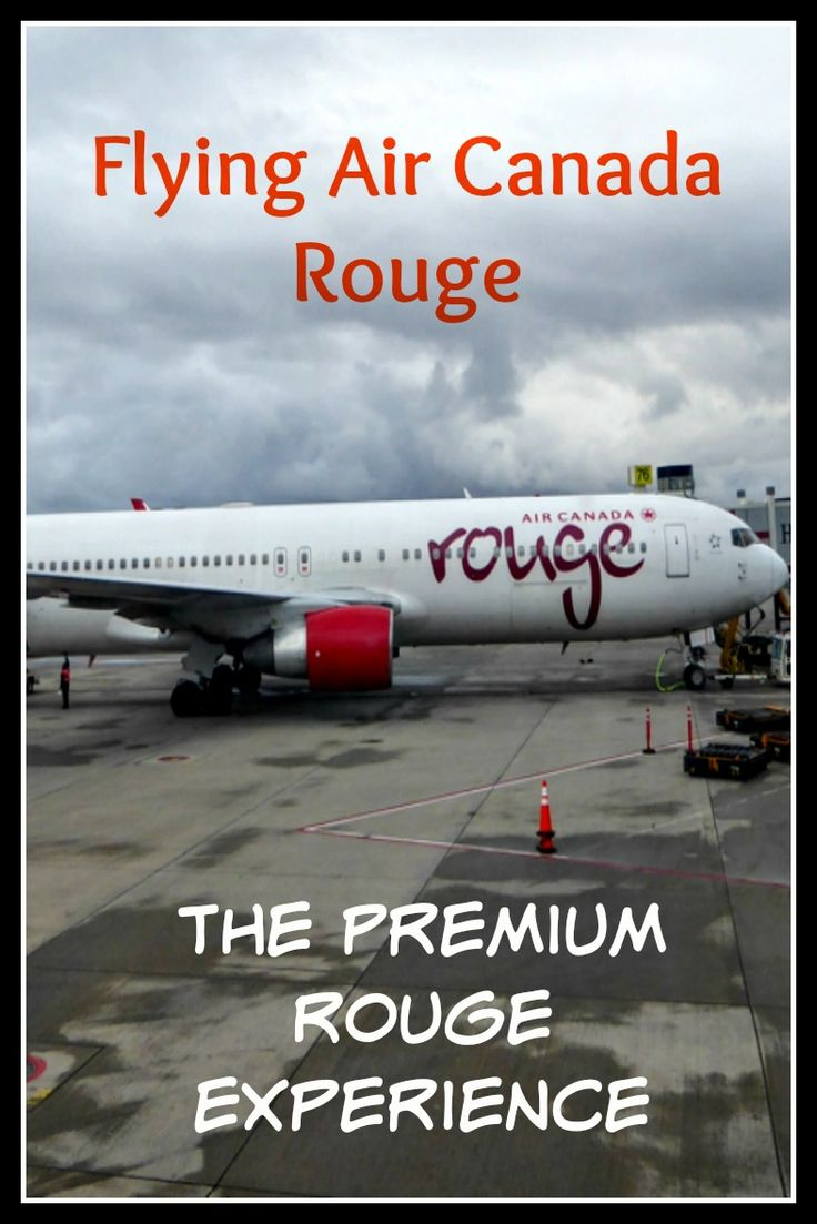Learn all about flying Air Canada Rouge, Premium Rouge.