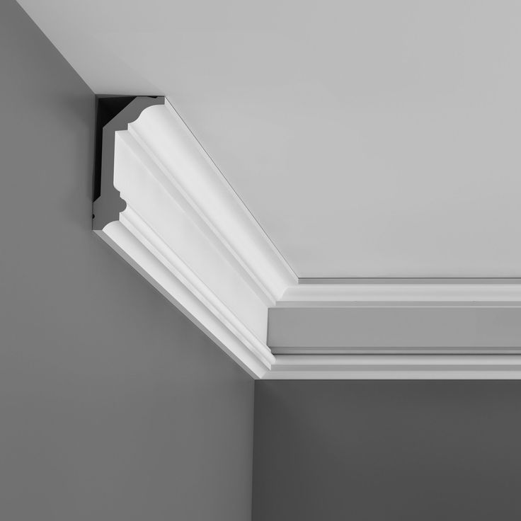 A decorative design that can bring back the character of a renovated house or contrasts with modern elements to enrich any setting This cornice molding is for a ceiling edge and corner. Can easily be installed with nail or glue. 78 inches (6.5 feet)