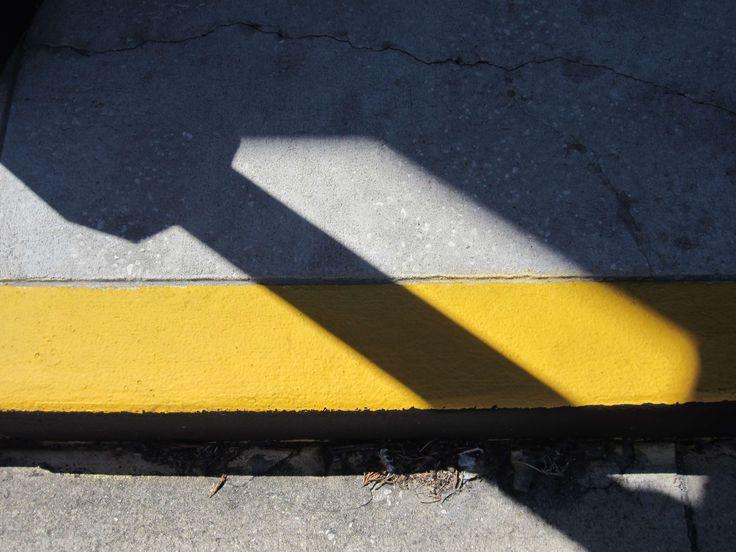 #black #giallo #nero #ombra #road #shadow #strada #yellow
