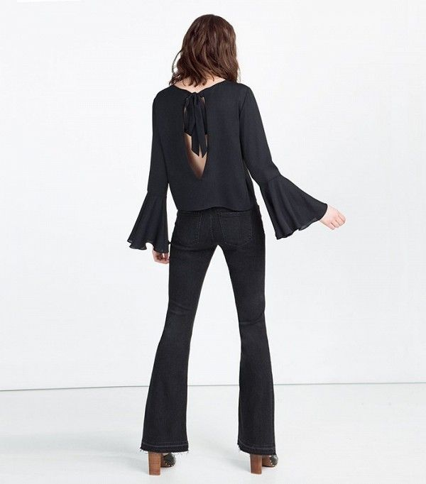 Zara Open Back Top