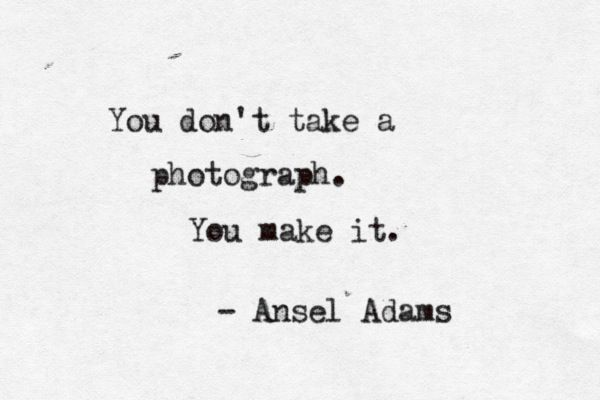 99 Inspirational Photography Quotes http://www.thephotoargus.com/99-inspirational-photography-quotes/
