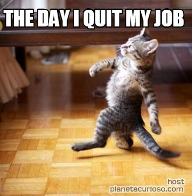 Meme Maker - THE DAY I QUIT MY JOB Meme Maker!
