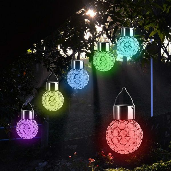 Top 10 Best Solar Powered Hanging Lanterns 2018 Reviews Outdoor Hanging Lights Hanging Solar Lights Solar Powered Led Lights