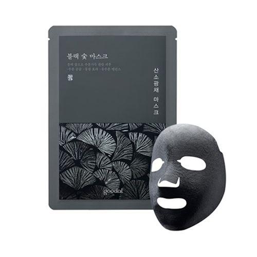 [GOODAL_50% SALE] Black Charcoal Mask - 1pcs No.Oxygen Radiance