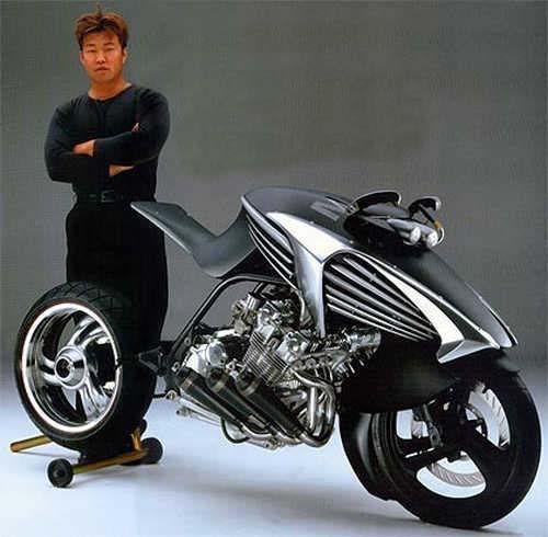 Honda CBX Concept - Honda's R Designer, Dais Nagao