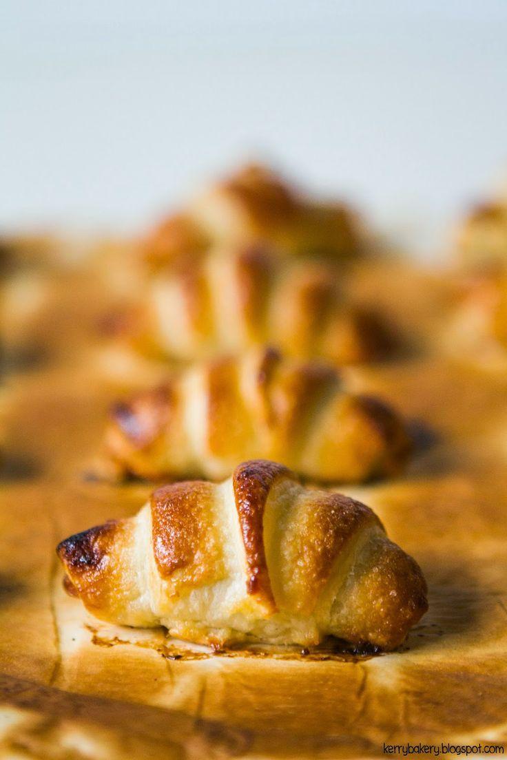 Kerry's Bakery: MINI CROISSANT DI PASTA SFOGLIA CON NUTELLA