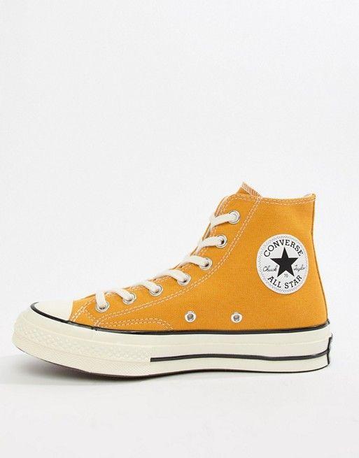 Converse Chuck 70 hi sunflower trainers  e94ab8504