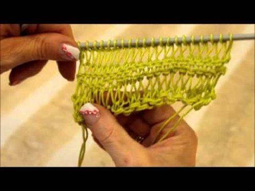 Egyszerű és közkedvelt Leengedős minta - Kötés - Horgolás - Kötés – Horgolás
