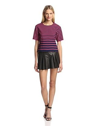 61% OFF Thakoon Addition Women's Striped Top (Navy/Pink)