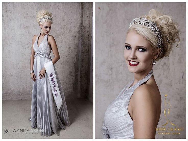 Miss Grand  The Netherlands 2013 with BaroQco Jewelry