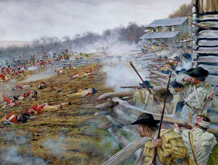 Blackstock's Farm, 20 November 1780, by Steve Noon. Colonel Thomas Brandon chose Blackstock's farm as a defensive position to face the attack of Banastre Tarelton's British force.