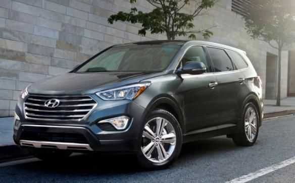 Safest SUVs for Small Families-Hyundai Santa fe 2015