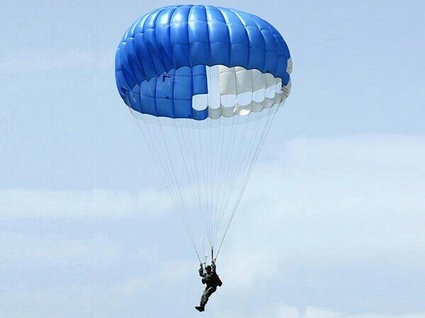 Parachute Jump - twice!