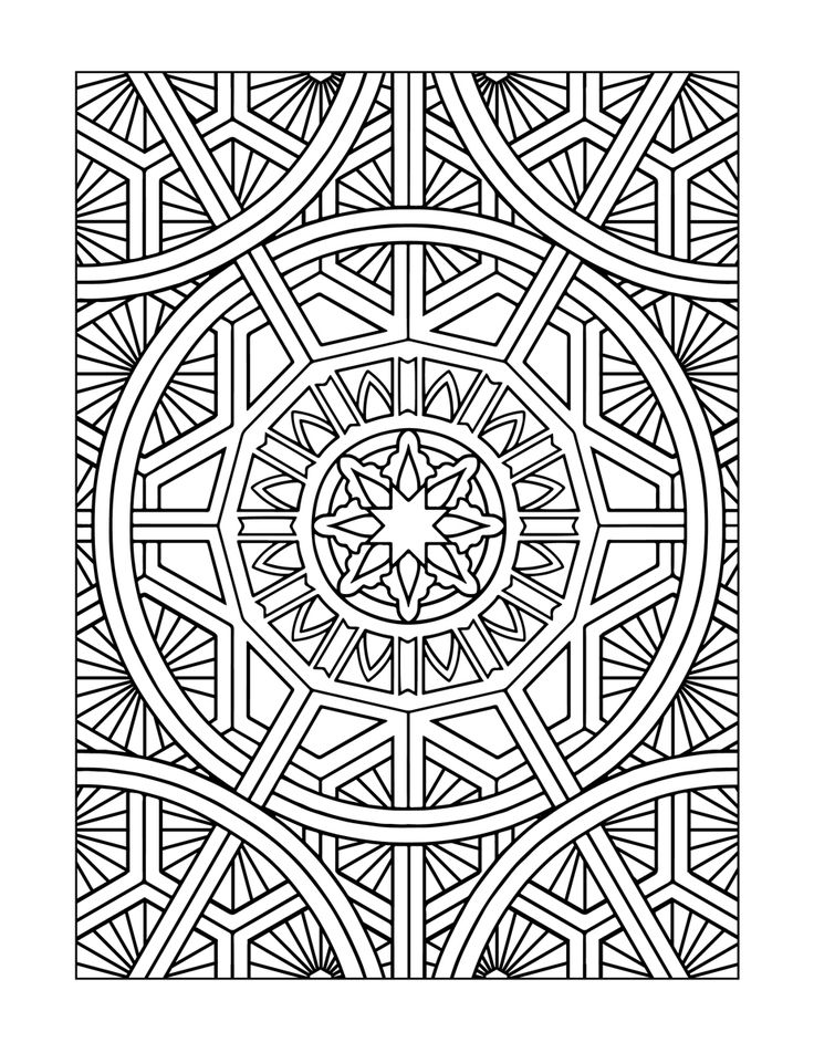 119 best Coloring Pages (Patterns) images on Pinterest | Coloring ...