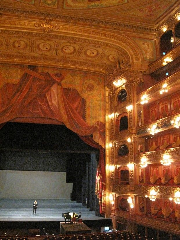 Guided visit to Colon Opera House. Teatro Colón is Argentina's leading opera house, opened in 1908.