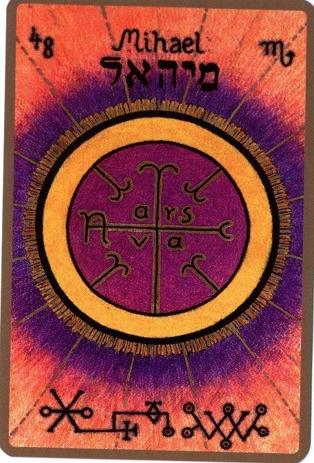 MIHAEL, Le Fécond Est votre Ange Gardien si vous êtes né(e) le 18 et le 22 novembre Son Nom Divin est Zaca Il est le 48eme ange et le 8eme ange appartenant au 7eme chœur « Le chœur des Puissances C…