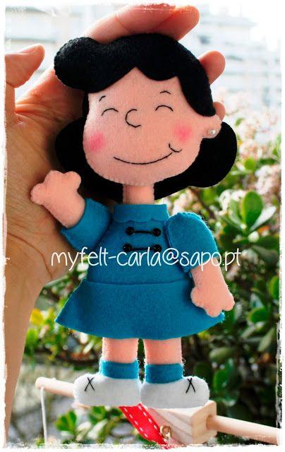 My Felt: Lucy Van Pelt!