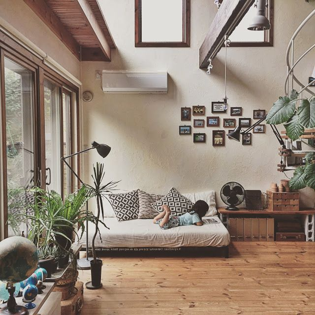 An Earthy Japanese Home Bohemian Interior DesignJapanese