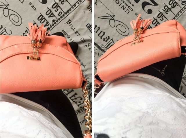 Coral Handbag #style #fashion #outfit #ootd #fashionblog #fblogger #fblog #fashionblogger #outfitidea