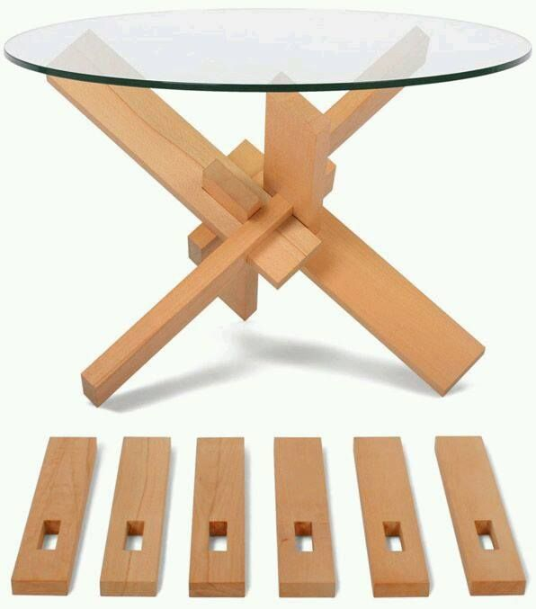 What about a rustic look also, love these tables