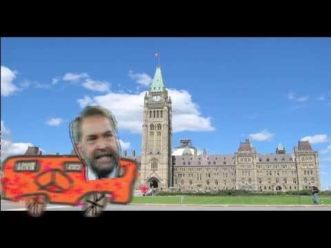 Canadian #cdnpoli June 13 news Thomas Mulcair runs a stop and Stephen Harper sells tar sands oil