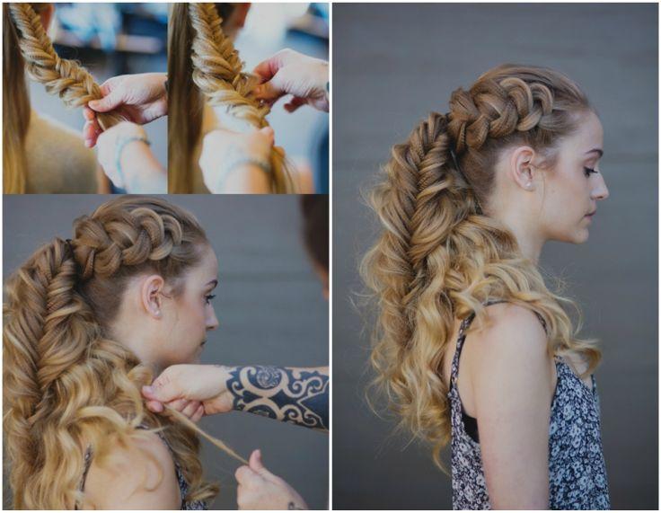 wikinger frisuren zopf anleitung #frisuren #hairstyle #hair