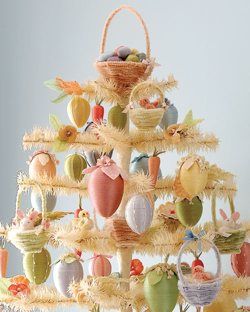 eggs over easy: Crafts Ideas, Decor Ideas, Easter Decor, Easter Eggs, Martha Stewart, Easter Trees, Eggs Trees, Easter Ideas, Pipes Cleaners